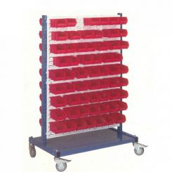 Stockage mobile pour bacs