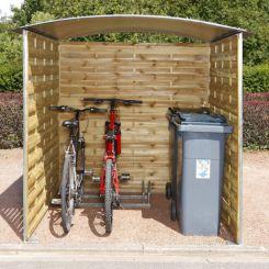 Abris vélos ou poubelles