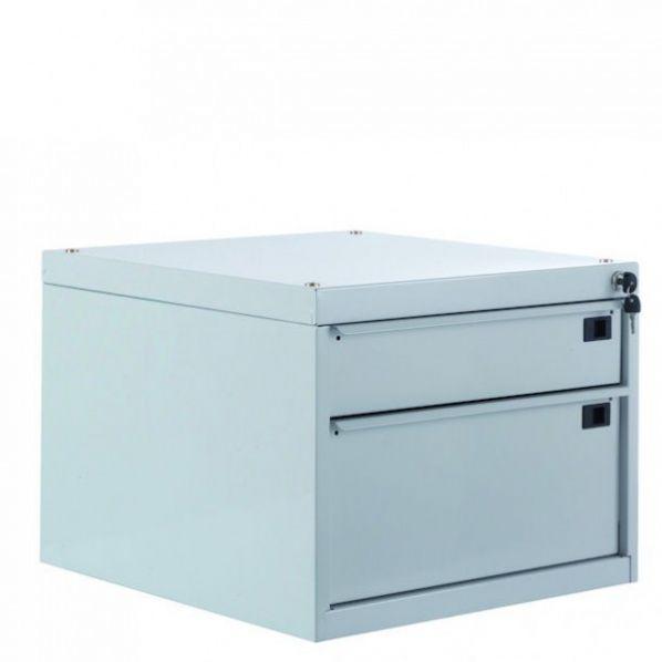 caisson 2 tiroirs pour plan de travail roll