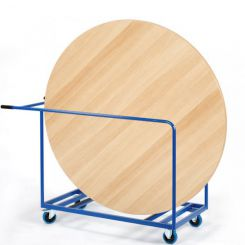 Chariot pour table ronde