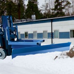 Chasse neige 1500 mm pour chariot élévateur