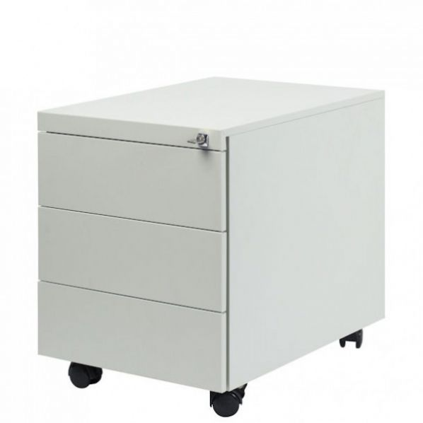 caisson sur roulettes 3 tiroirs e5304 roll co. Black Bedroom Furniture Sets. Home Design Ideas