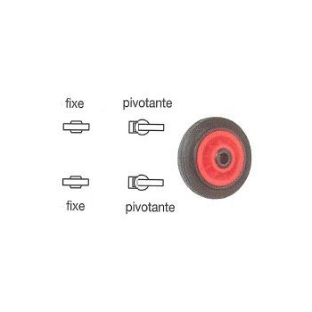 Plus-value modification roulettes sur chariot 500 Kg