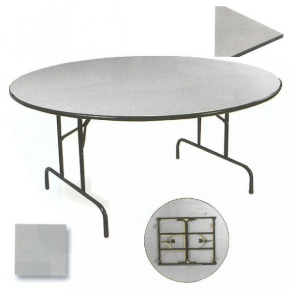 table repliable ronde roll. Black Bedroom Furniture Sets. Home Design Ideas