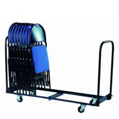 Chariot stockage vertical pour chaises