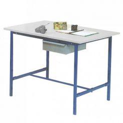 Poste de travail table éco - Avec tiroir