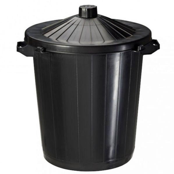 poubelle de rue 80 litres roll. Black Bedroom Furniture Sets. Home Design Ideas