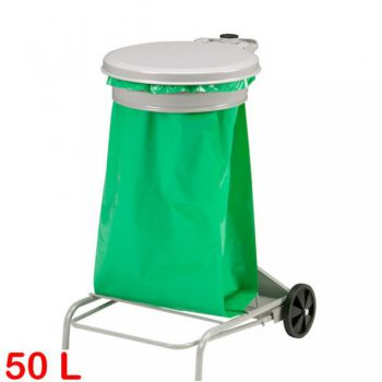Support sac poubelle mobile 50L COLLECROULE