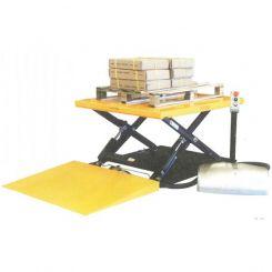 Table élévatrice électrique avec rampe