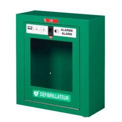 Boitier de rangement pour défibrillateur