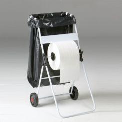 Distributeur bobine papier avec support sac