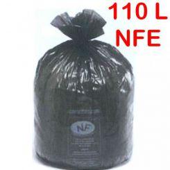 Sac poubelle NF Environnement 110L