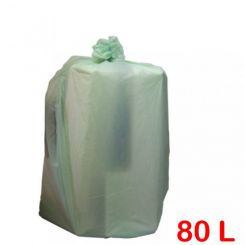 Sac poubelle biodégradable 80L