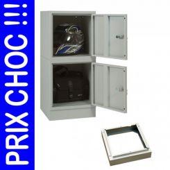 Vestiaire monobloc cube Industrie propre 1 case