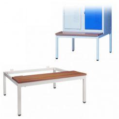 Socle-banc pour vestiaire | longueur 900 mm