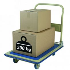 Chariot magasin pliant charge 300 kg