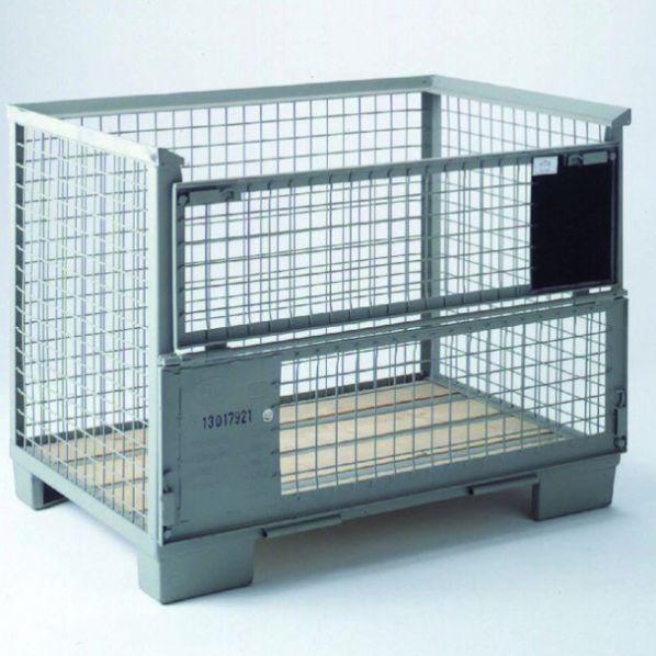caisse palette conteneur europool roll. Black Bedroom Furniture Sets. Home Design Ideas