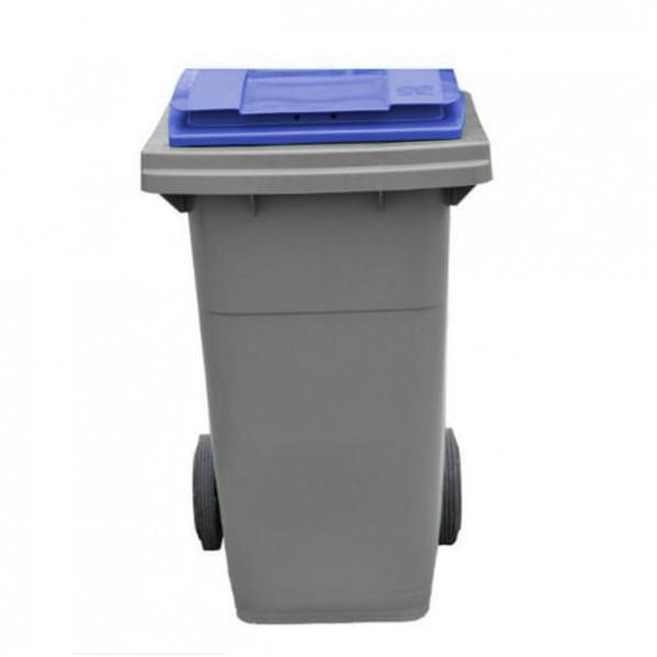 conteneur poubelle bicolore 80 litres roll co. Black Bedroom Furniture Sets. Home Design Ideas
