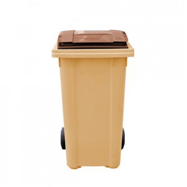 conteneur poubelle bicolore 240 litres roll co. Black Bedroom Furniture Sets. Home Design Ideas