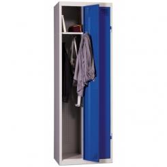 Vestiaire industrie propre | Bleu | 2 cases | livré demonté