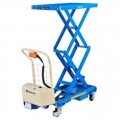 Table élévatrice électrique mobile double ciseaux 150kg - Bishamon