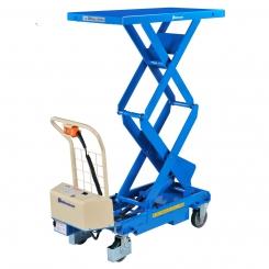Table élévatrice électrique hydraulique mobile double ciseaux
