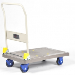 Chariot à dossier repliable 300 kg - PRESTAR
