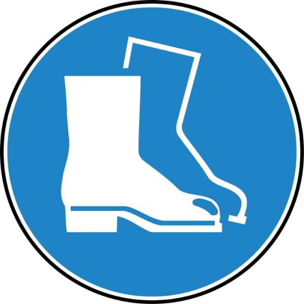 Pictogramme chaussures de securit obligatoires roll - Port des lunettes de securite obligatoire ...