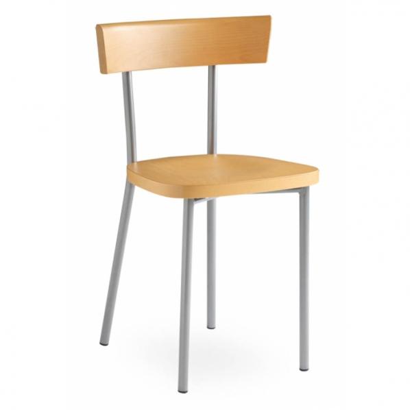 chaise design en h tre roll. Black Bedroom Furniture Sets. Home Design Ideas