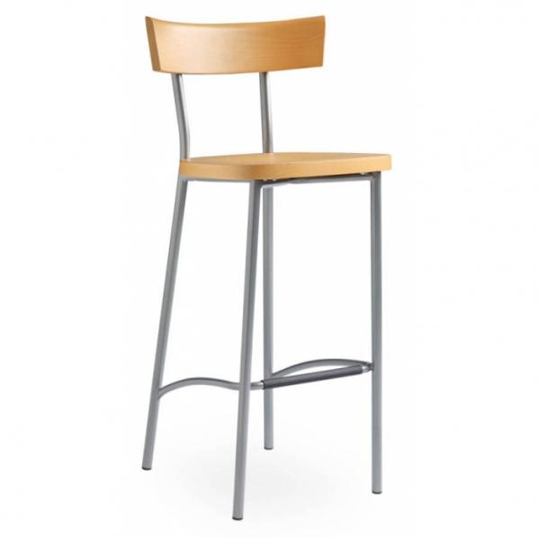 chaise haute design en h tre roll co. Black Bedroom Furniture Sets. Home Design Ideas