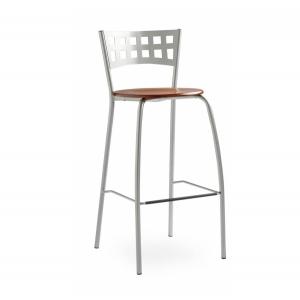 Chaise haute contemporaine en hêtre