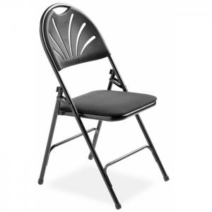 Chaise pliable design matelassée