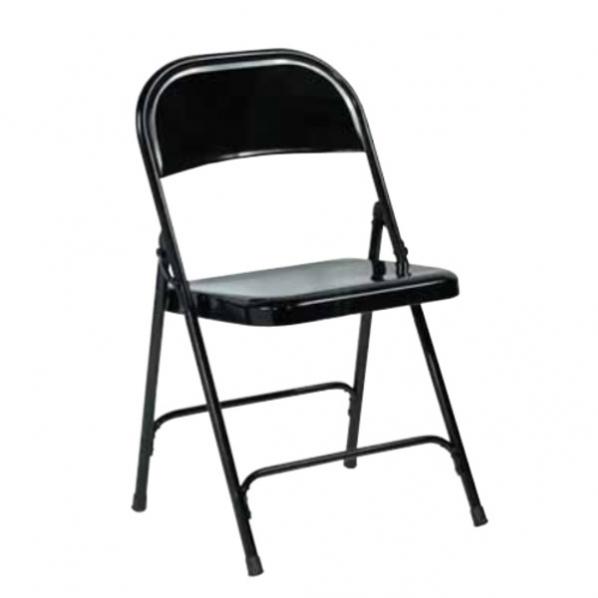 chaise pliante en acier conomique roll. Black Bedroom Furniture Sets. Home Design Ideas