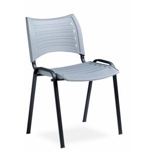Chaise de conférence assise plastique