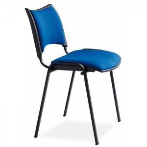 Chaise de conférence assise tissu