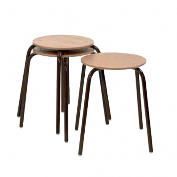 tabourets bois empilables roll. Black Bedroom Furniture Sets. Home Design Ideas