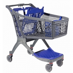 Chariot libre service moyenne surface
