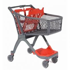 Chariot libre service supermarché