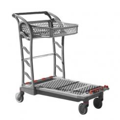 Chariot à plateforme pour magasins spécialisés