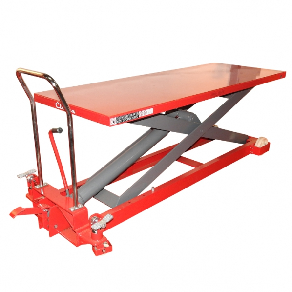 Table l vatrice mobile 1000kg roll for Table elevatrice