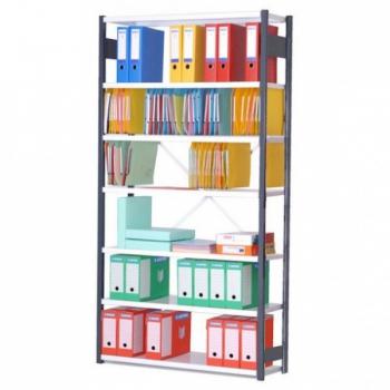 Rayonnage d'archives en métal - hauteur 2000 mm