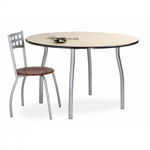 Table de cafétéria ronde