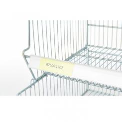 Porte-étiquettes PVC - Longueur 1230 mm