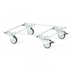 Socle roulant - Longueur 490 mm