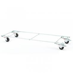 Socle roulant - Longueur 1280 mm