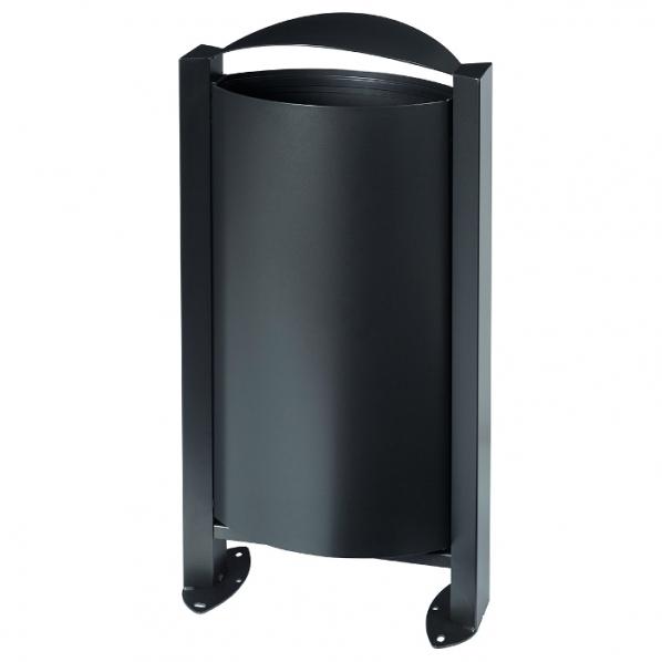 corbeille sur pied arkea 60l roll. Black Bedroom Furniture Sets. Home Design Ideas