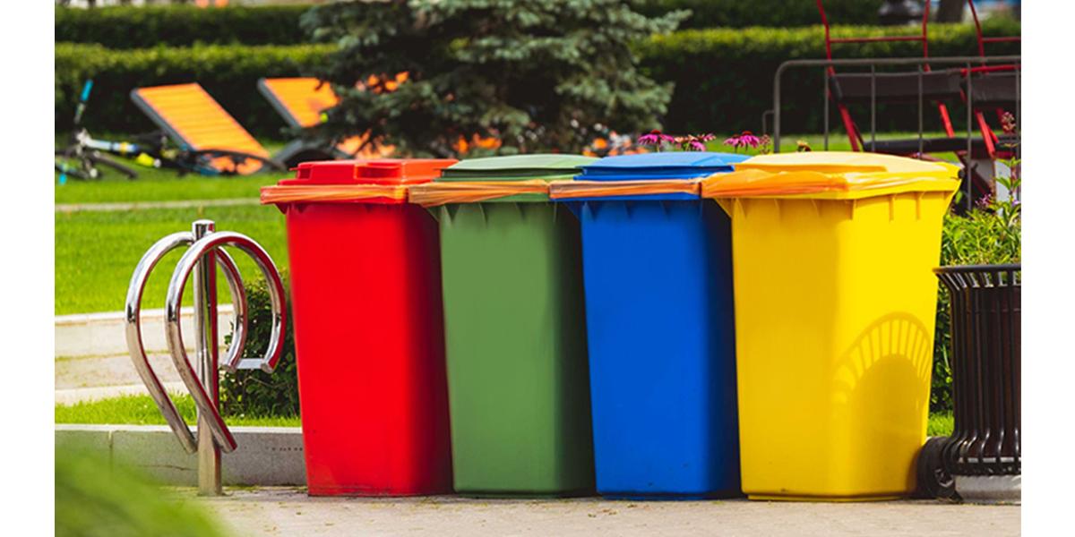 poubelles extérieures