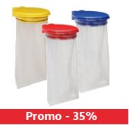 35% de remise sur les supports sacs poubelle