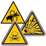 Pictogrammes danger