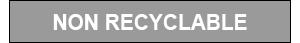 Coloris GRIS - NON RECYCLABLE
